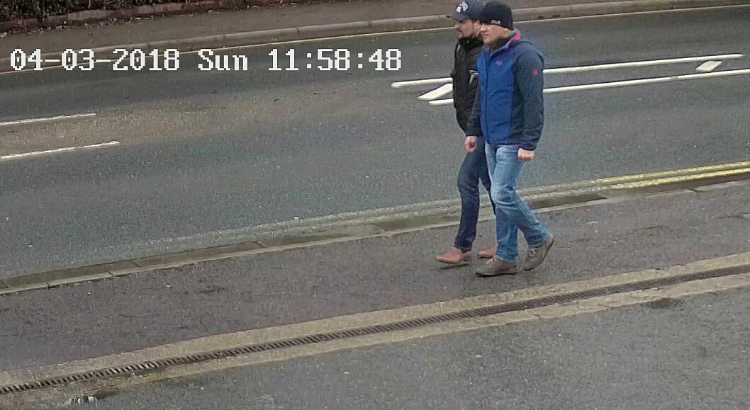 "(FILES) In this file photo taken on September 05, 2018 A handout picture taken on Wilton Road in Salisbury, west of London on March 4, 2018, and released by the British Metropolitan Police Service in London on September 5, 2018, shows Alexander Petrov (R) and Ruslan Boshirov, who are wanted by British police in connection with the nerve agent attack on former Russian spy Sergei Skripal and his daughter Yulia. - Investigative group Bellingcat on October 9, 2018 identified the second suspect in the poisoning of former Russian spy Sergei Skripal as a doctor employed by Moscow's GRU military intelligence service. ""We have now identified 'Alexander Petrov' to be in fact Dr. Alexander Yevgenyevich Mishkin, a trained military doctor in the employ of the GRU,"" the British-based group said in a report published on its website. Bellingcat worked with the Russian investigative team at The Insider to name the first of the two Skripal suspects 'Ruslan Boshirov' as GRU agent Anatoly Chepiga last month. The Kremlin has rejected past charges about its involvement in the case as fabrications aimed at discrediting Russia. (Photo by HO / METROPOLITAN POLICE / AFP) / RESTRICTED TO EDITORIAL USE - MANDATORY CREDIT  "" AFP PHOTO / Metropolitan Police Service""  -  NO MARKETING NO ADVERTISING CAMPAIGNS   -   DISTRIBUTED AS A SERVICE TO CLIENTS"