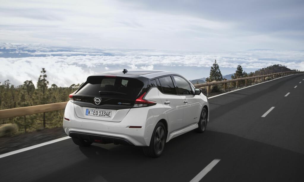 Nissan: Leaf ble Norges mest solgte bil i 2018. Foto: Nissan