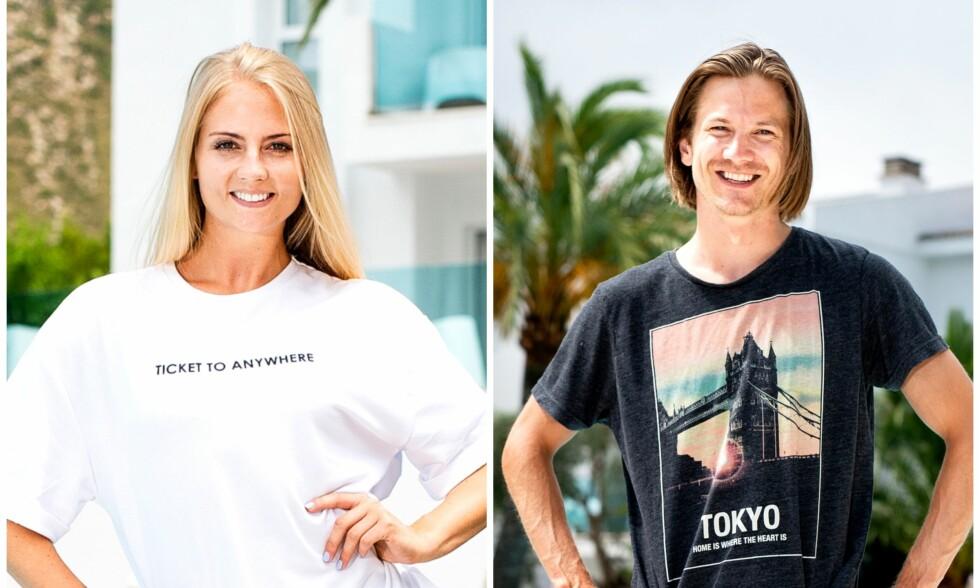 RØPER ROMANSE: Kine Olsen Vedelden og Tom Hilde møttes på «Mesternes mester»-innspilling. Der oppsto det søt musikk. Foto: John T. Pedersen / Dagbladet