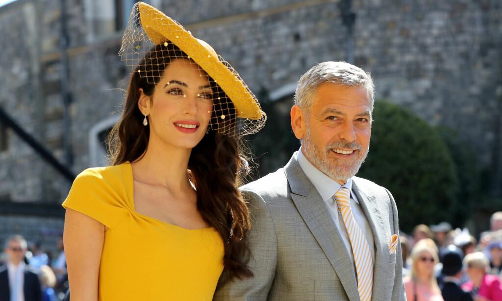 BOIKOTT:George Clooney oppfordrer til full boikott av luksushotellene. Her med kona Amal Clooney. Foto: Reuters/ NTB Scanpix