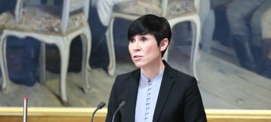 Krig er nå det ufarligste en norsk politiker kan befatte seg med