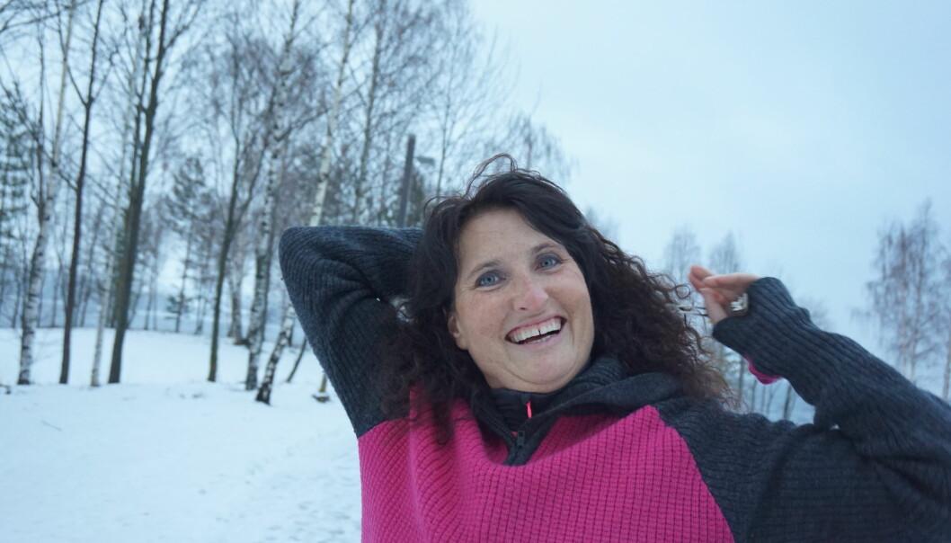 HJERNESVULST: - Tross alvorlig sykdom med svulst på hjernen, har Linda et liv fylt av glede. FOTO: Privat