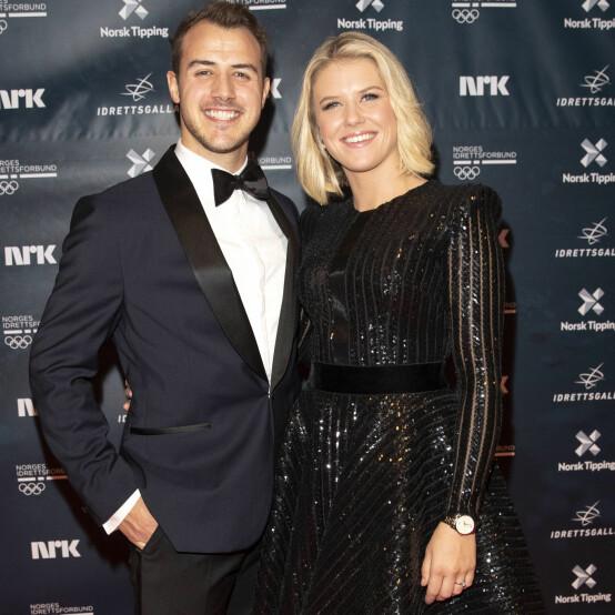 <strong>UTSETTER:</strong> Tiril Sjåstad Christiansen og forloveden Stian Lauritzen hadde store planer om å gifte seg i Italia i august. Nå har de blitt nødt til å utsette bryllupet. Foto: Andreas Fadum/Se og Hør