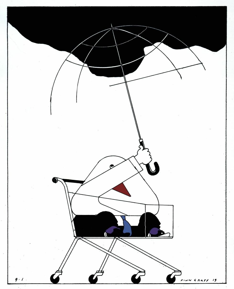 Tegning: Finn Graff.