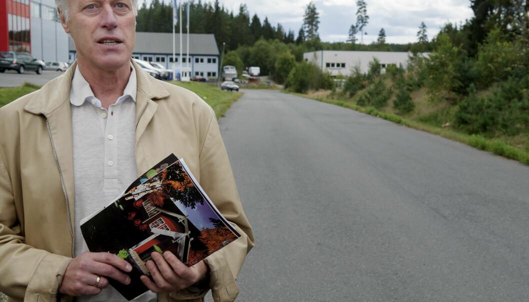 <strong>STYRTRIK:</strong> Den mediesky investoren Tom Hagen slo seg opp innen eiendom, men har for alvor blitt styrtrik på krafthandel. Foto: Eivind Yggeseth