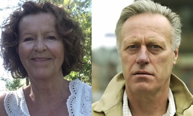 TROLIG KIDNAPPET: Anne-Elisabeth Hagen er kone av milliardær Tom Hagen. Foto: Privat og Torbjørn Olsen / GD ) NTB Scanpix