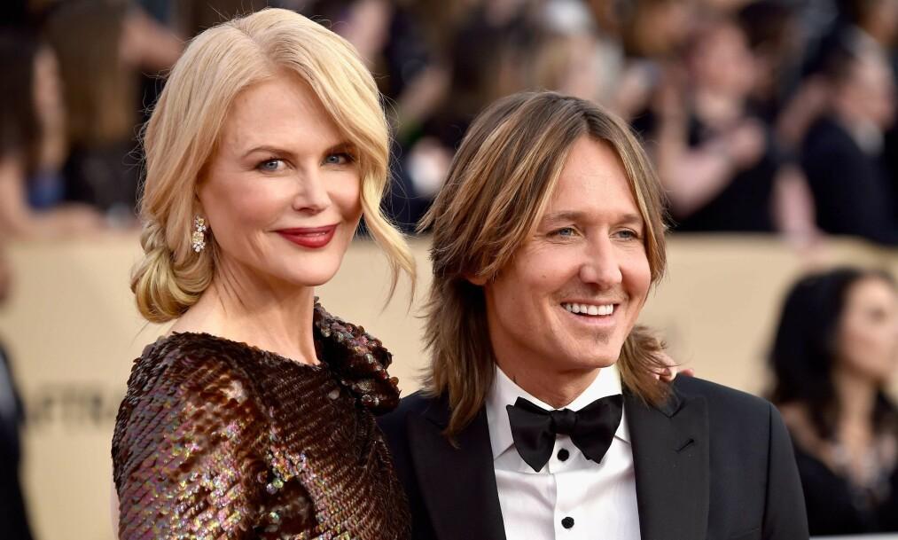 <strong>KJÆRLIGHET:</strong> Skuespiller Nicole Kidman åpner opp i nytt intervju om starten på forholdet med ektemannen Keith Urban. Foto: NTB scanpix