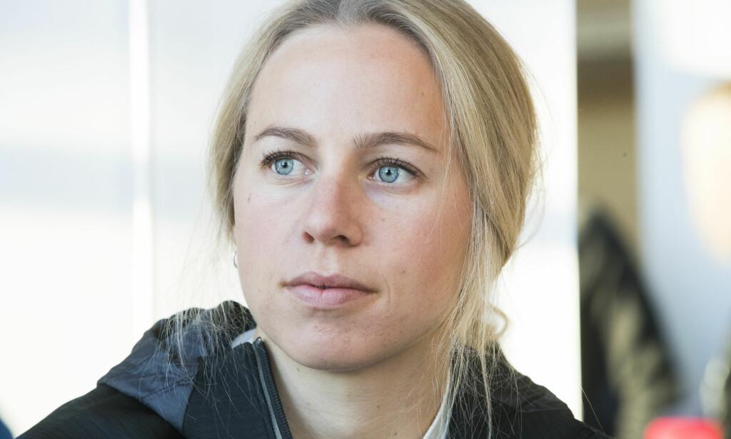 REAGERER: Liv Grete Skjelbreid reagerte da Tiril Eckhoff sto over norgesmesterskapet i helgen. Det forstår skiskytteren lite av.  Foto: Berit Roald / NTB scanpix