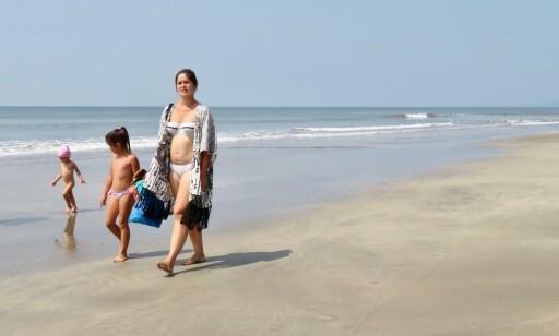 Familievennlig: Sandstrendene ved Arambol på Goa er lange og behagelige. Foto: Odd Roar Lange/The Travel Inspector