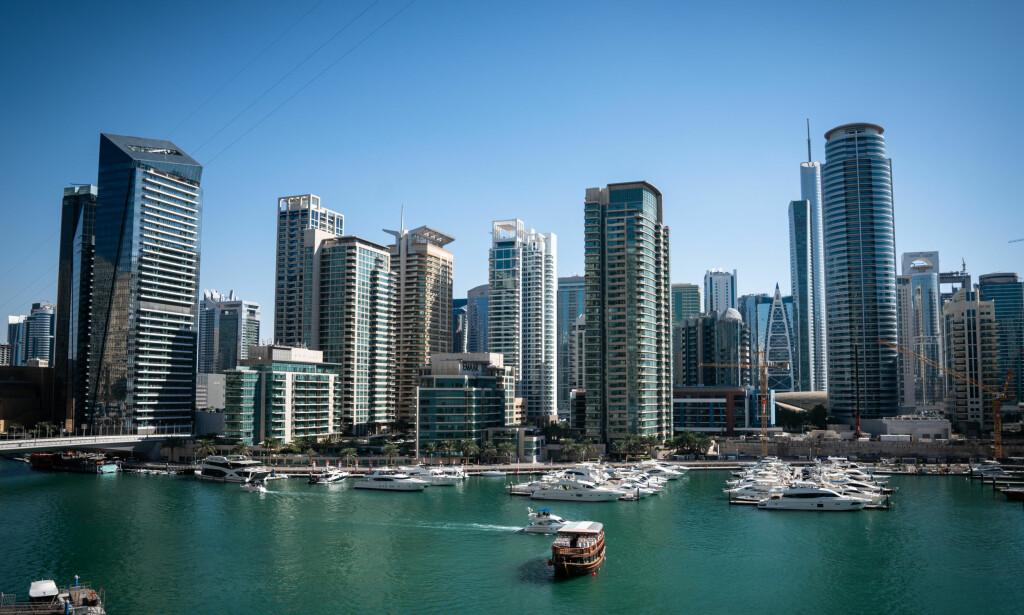 DUBAI MARINA: Kanalen mellom fastlandet og den kunstige øya Dubai Marina. Her eide mannen i 70-åra leiligheten han ikke meldte fra om til norske skattemyndigheter.