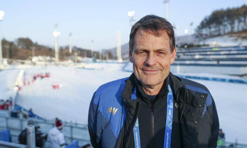 LEDER AN: Peter Reinebo i den svenske olympiske komité. Foto: NTB Scanpix
