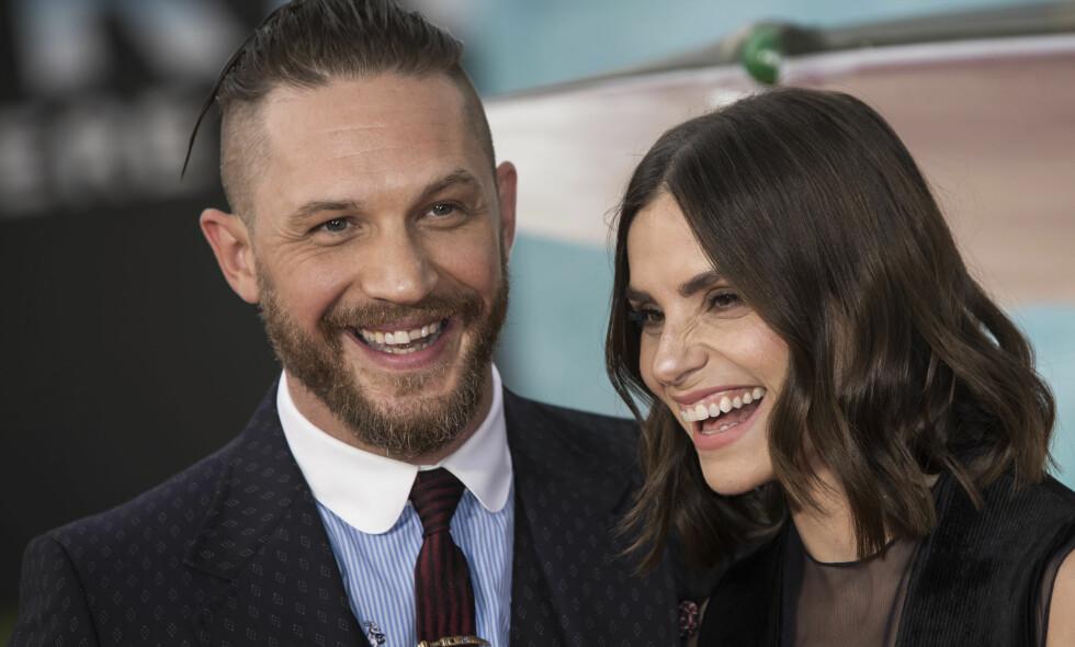 FORELDRE: Forrige måned skal skuespillerparet Tom Hardy og Charlotte Riley ha blitt foreldre for andre gang. Foto: NTB Scanpix