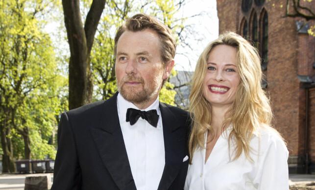 SEKSBARNSFAR: I juli kunne Fredrik Skavlan og Maria Bonnevie glede seg over å få en datter. Sammen har de tre barn sammen. Skavlan har også tre barn fra tidligere forhold. Foto: Andreas Fadum