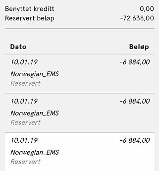 image: Kundene raser mot Norwegian: Therese (46) ble trukket for nesten 73 000 kr