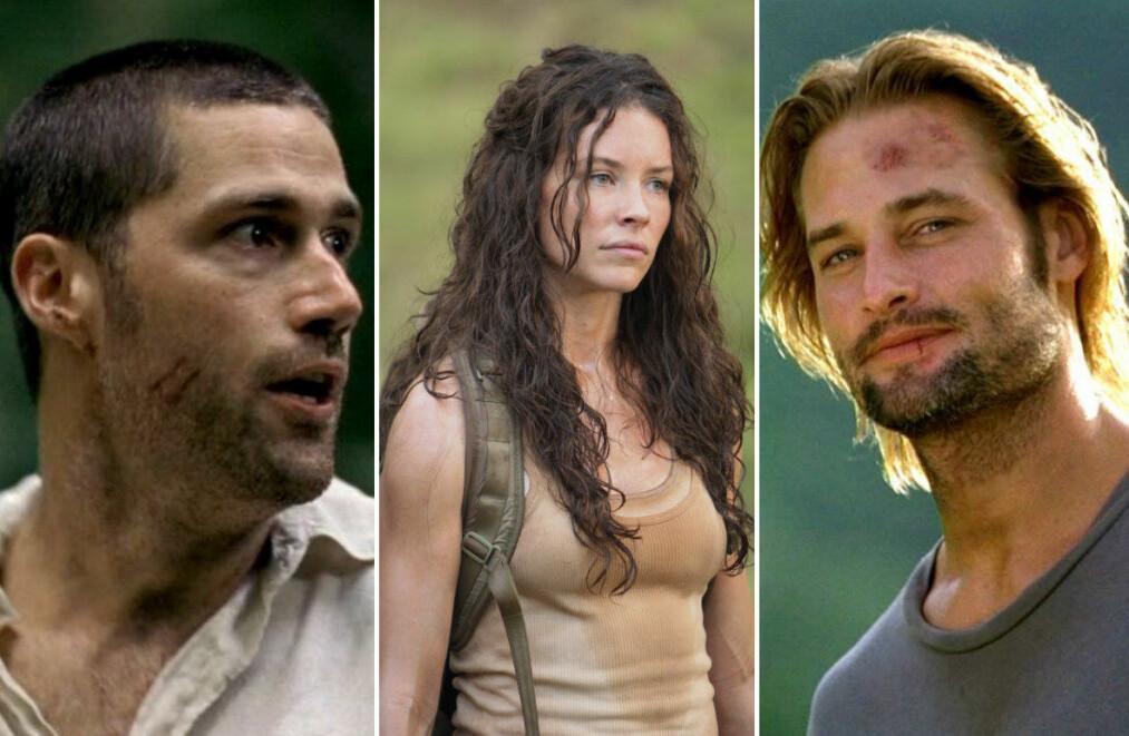 <strong>OVERLEVDE FLYKRASJ:</strong> Matthew Fox, Evangeline Lilly og Josh Holloway spilte tre av karakterene som måtte overleve på en øde øy i «Lost». FOTO: ABC