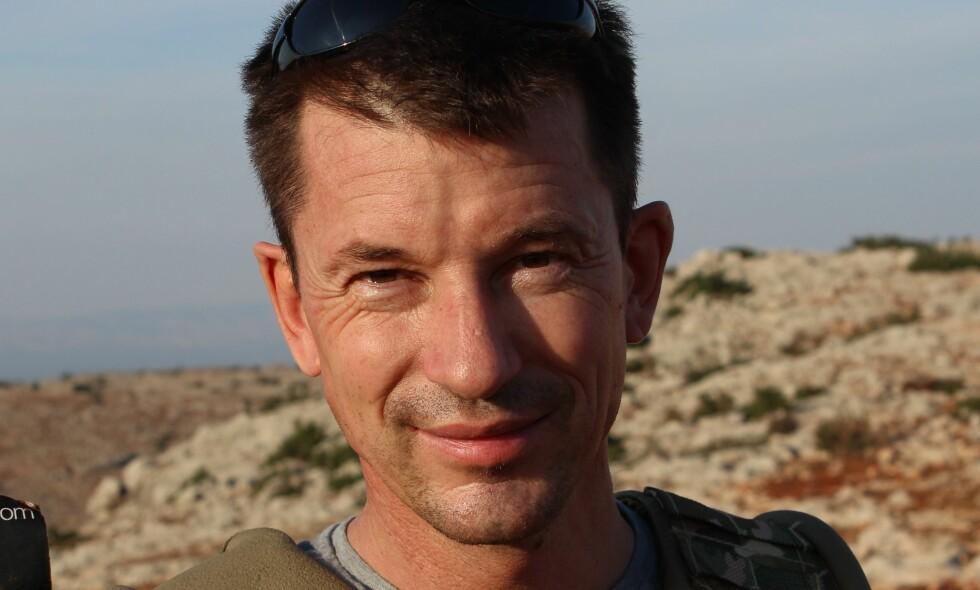 KAN FORTSATT VÆRE I LIVE: Den britiske journalisten John Cantlie. Foto: AFP PHOTO / COURTESY OF THE CANTLIE FAMILY