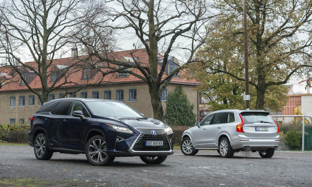 NY I GAMET: Lexus har strukket RX og plutselig er den blitt en konkurrent for storselgeren XC90. Alle foto: Jamieson Pothecary