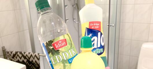 Vaske dusjen: Sitron utfordrer storfavoritten