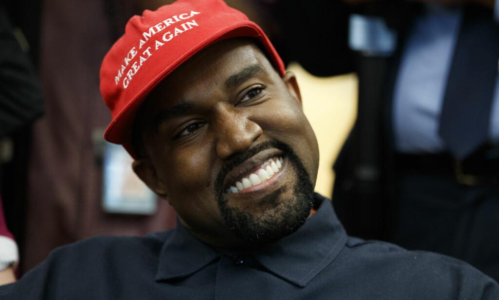 BLE DROPPET: Festivalen Coachella droppet artist Kanye West som headliner etter at han krevde at arrangørene bygget en kjempekuppel bare for hans konsert. Foto: NTB Scanpix.