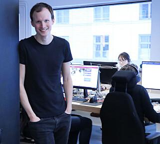 Gulbrand Øverbye er produktansvarlig i Nettbureau. 📸: Jørgen Jacobsen