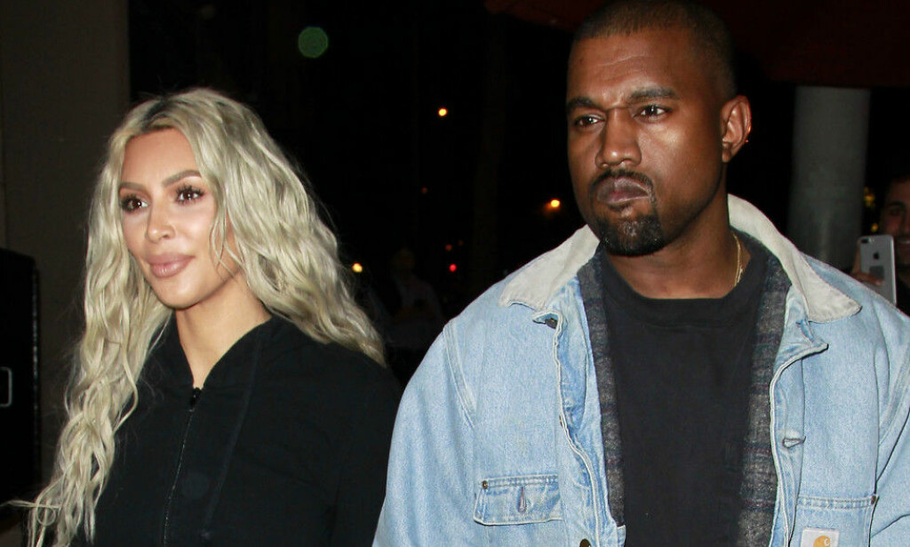 SUPERPAR: The two rapper and his wife Kim Kardashian (t.v.) tend to be critical and diagnosed; create media press releases. Picture: NTB scanpix