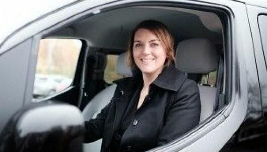 IKKE NOK: Generalsekretær i Norsk Elbilforening, Christina Bu, vil ha flere elektriske drosjer. Foto: Norsk Elbilforening