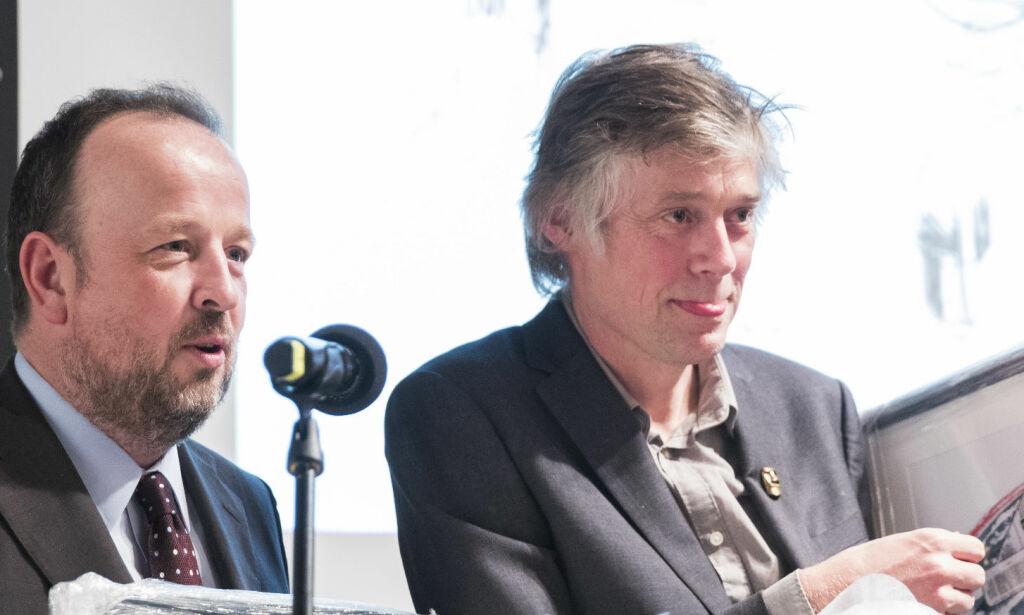 image: VG-kommentator Frithjof Jacobsen slutter brått