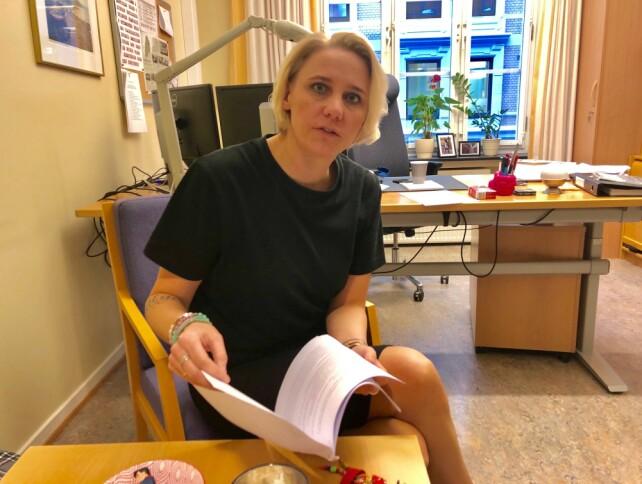 IKKE EKSPERTER: - Fengselsbetjenter er ikke, og skal ikke være, eksperter på psykisk syke, mener Maria Aasen-Svensrud (Ap). Foto: Gunnar Ringheim / Dagbladet
