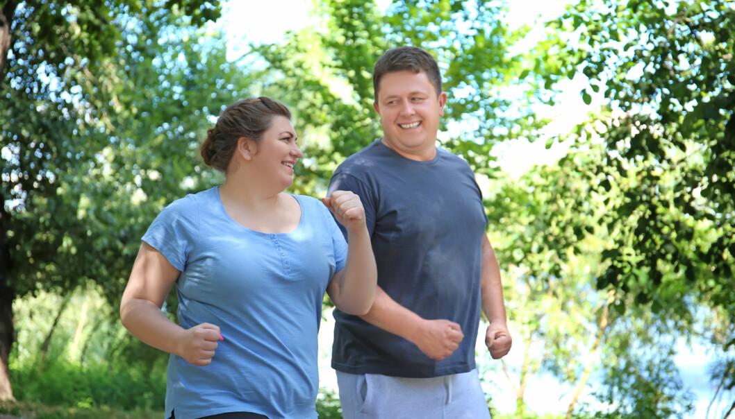 <strong>LIVSSTIL TELLER:</strong> Er du ikke arvelig disponert for diabetes type 2, skal vektnedgang og fysisk aktivitet ha mye å si for å unngå diabetes type 2. Foto: NTB Scanpix.