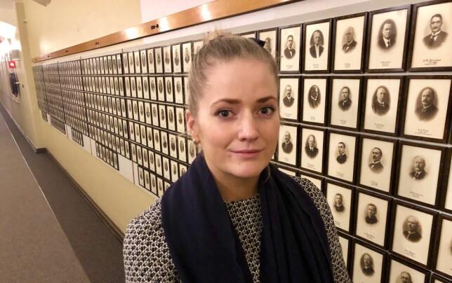 LAV BEMANNING: - Fengslene sitter igjen med så lav bemanning at det går ut over sikkerheten både for ansatte og forholdene for de innsatte, mener Emilie Enger Mehl (Sp). Foto: Gunnar Ringheim / Dagbladet