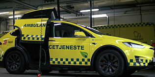 image: Danmark får Tesla-ambulanse