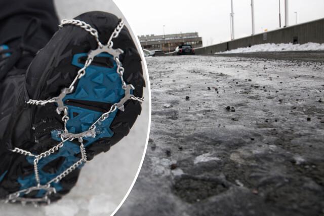 0da3cb30 Slik unngår du å falle på isen - Vil du unngå å tryne på isen? Da ...
