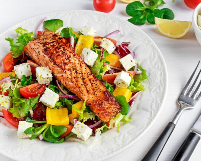 RIK: Laks inneholder masse nødvendige mineraler, vitaminer og sunne fettsyrer som er super bra for kroppen. Foto: Scanpix