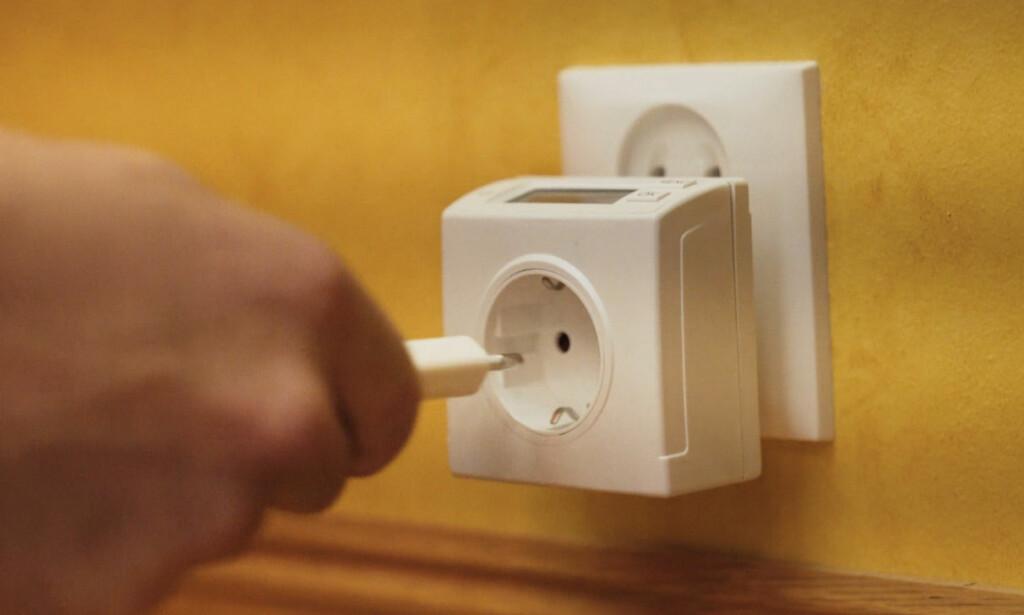 SMARTING: Reduser strømforbruket ved å bruke et digitalt koblingsur.