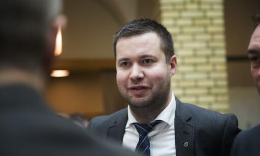 KRITISK: Geir Pollestad (Sp) har problemer med å ta rapporten på alvor. Foto: NTB Scanpix