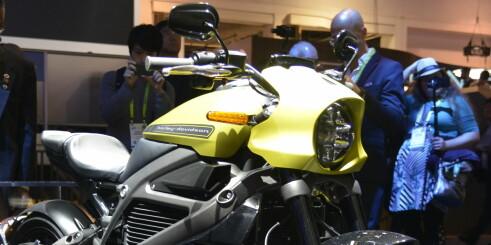 Legenden har gitt etter - Nå kommer Harley med el-motor