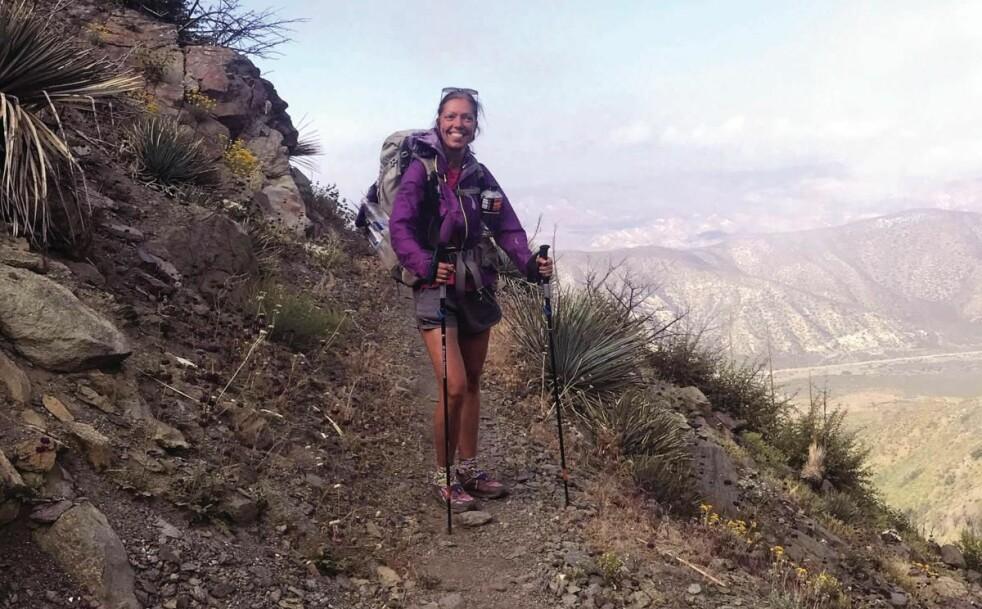 THE PACIFIC CREST TRAIL: The Pacific Crest Trail er den samme ruten som Reese Witherspoon gikk i filmen «Wild». FOTO Gitte Holtze