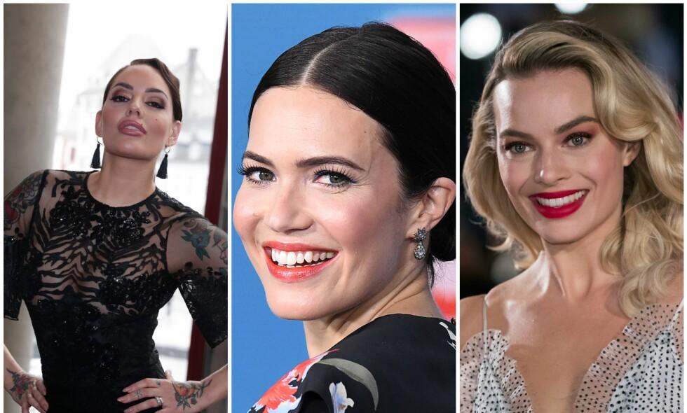 KAN FØLGE I FOTSPORENE TIL STJERNENE: Programleder Triana Iglesias kan gjøre som Hollywood-stjernene Margot Robbie og Mandy Moore, og velge å gifte seg i hemmelighet . Foto: NTB scanpix