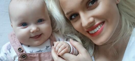 – Jeg følte jeg måtte se presentabel ut bare dager etter fødselen, selv om det kjentes som jeg hadde blitt påkjørt av et tog
