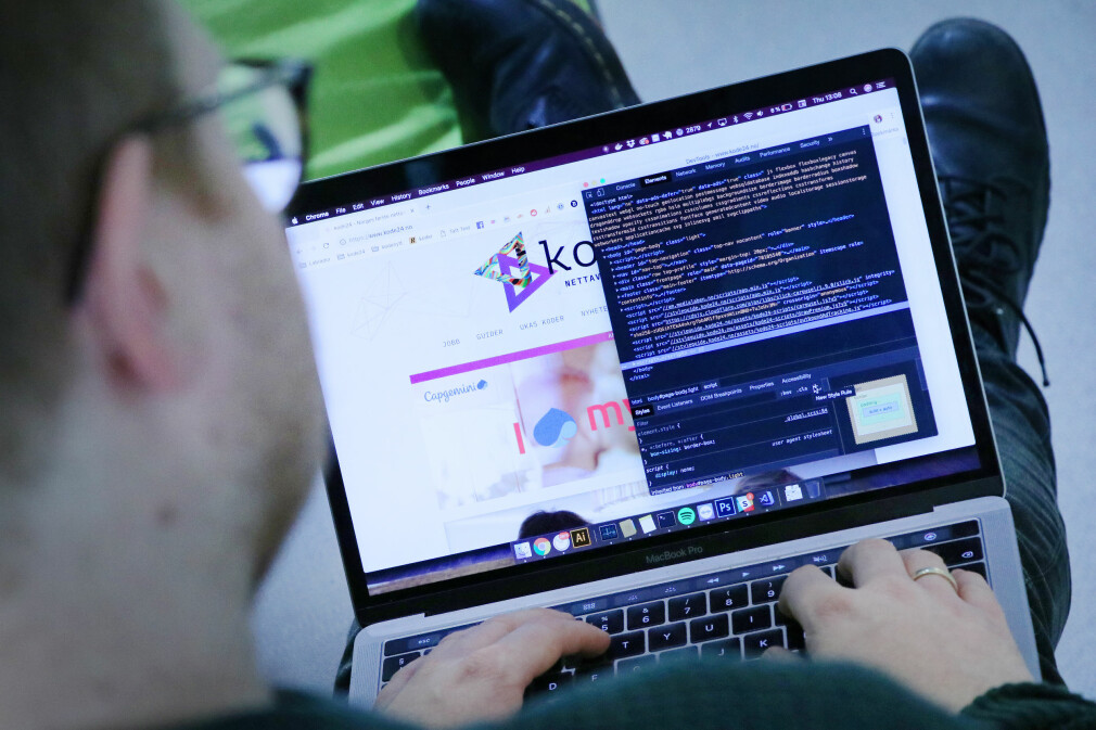 Jørgen anbefaler skjulte skatter i Chrome sitt DevTools-verktøy. 📸: Ole Petter Baugerød Stokke