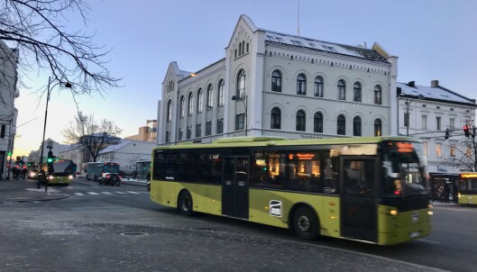 <strong>Gebyrkrangel:</strong> Busspassasjerer klager på gebyr etter manglende billett. Foto: Odd Roar Lange