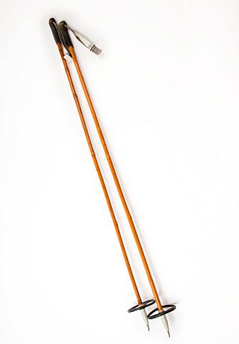 INGEN ROM FOR FEILSKJÆR: Lette bambusstaver ga god fart, så fremt de ikke knakk i et fall. FOTO: NTBScanix