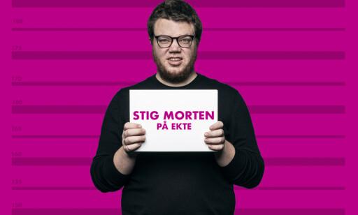 SATIRIKS: Stig Morten Lorentzen Waage er prosjektleder for NRK Satiriks. Foto: NRK Satiriks