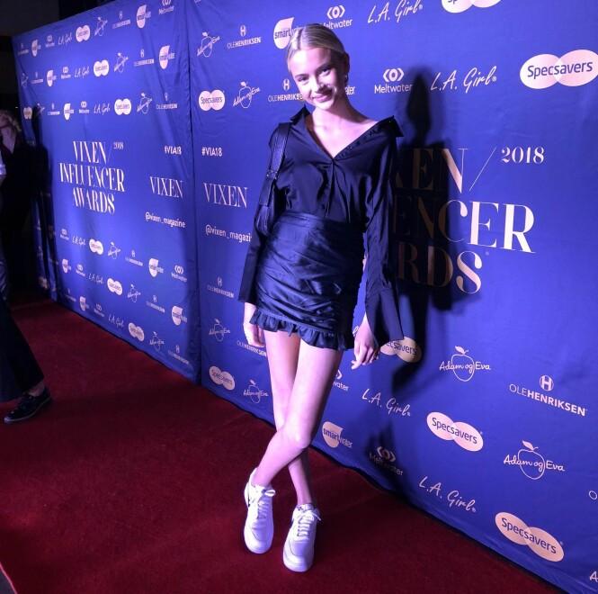 NOMINERT: Emma Ellingsen var nominert i hele tre kategorier. Foto: Julie Solberg