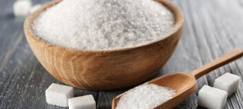 Jo, det er forskjell på sukkeret vi spiser