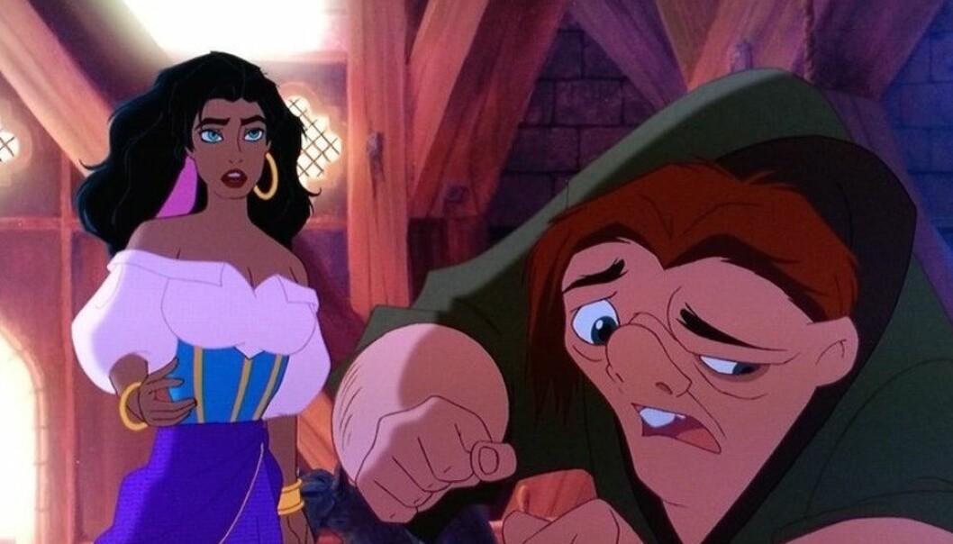 BLIR VIRKELIGHET: Vi gleder oss til å se hvilke skuespillere som skal fylle rollene som Esmeralda og Quasimodo! Faktisk har vi et forslag selv... FOTO: Disney