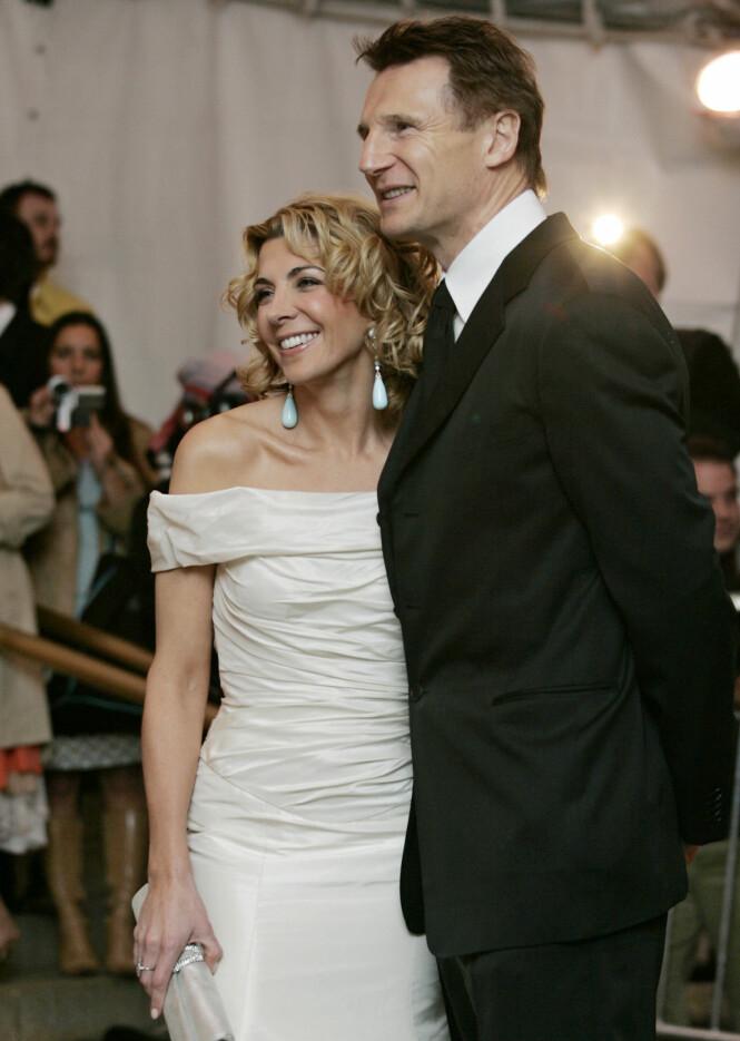 Natasha Richardson og Liam Neeson giftet seg i 1994. Foto: Scanpix