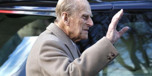image: Prins Philip (97) krasjet. Nå skaper han debatt rundt aldrende sjåfører