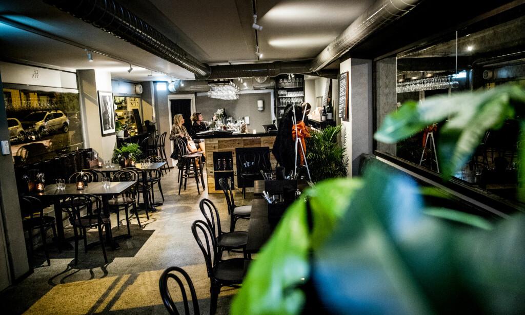 LUNT: Le Vin er en relativt nyåpnet nabolagsrestaurant i Parkveien.