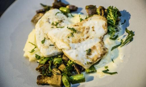 LITT Å TREKKE: Fisken kunne med fordel vært tatt ut av ovnen et par minutter tidligere.